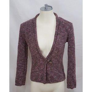 J Jill Cardigan Sweater Knit Cotton Button Top